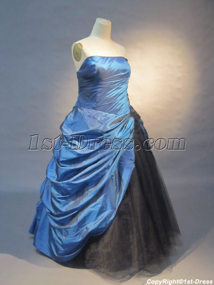images/201305/big/Royalblue-A-Line-Strapless-Taffeta-Tulle-Ball-Gown-0431-1498-b-1-1370027254.jpg