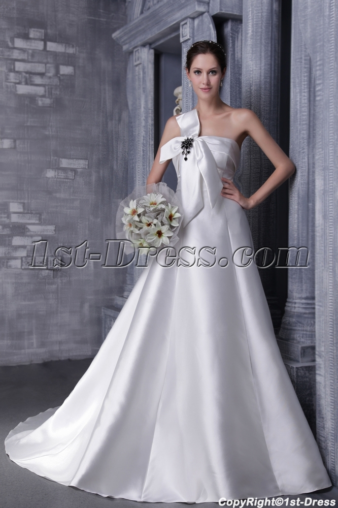 Simple Princess 2012 Wedding Dress