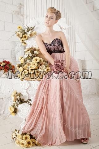 2013 Ankle Length Prom Dress for Full Figure