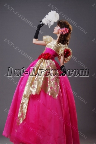 Ball Gown Princess Sweetheart Off the Shoulder V-Neck Long / Floor-Length Satin Organza Quinceanera Dress H02