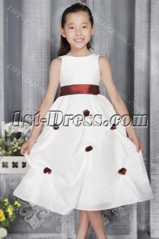 Charming Girl Party Dress Cheap 2772