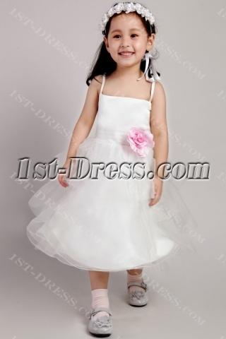 Cheap Cute Short Girl Party Dress 2383
