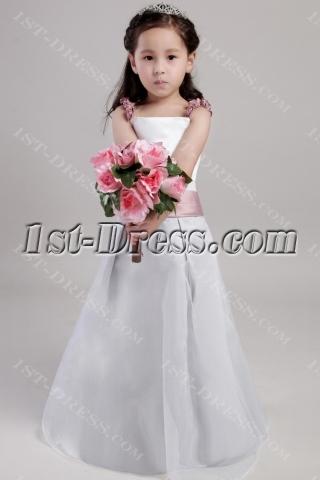 Elegant Little Girls Flower Girl Dresses 2018