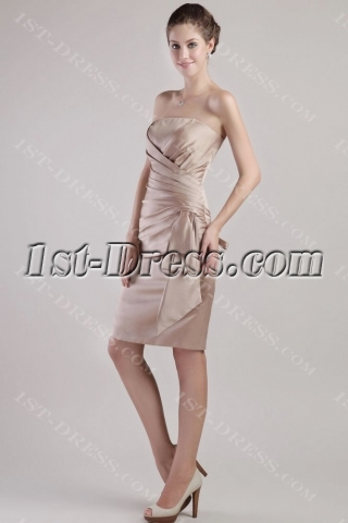 Gold Night Club Party Cocktail Dresses 2422