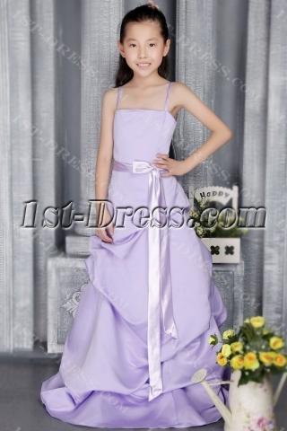Lavender Bridesmaid Dress Sale Girls 2854