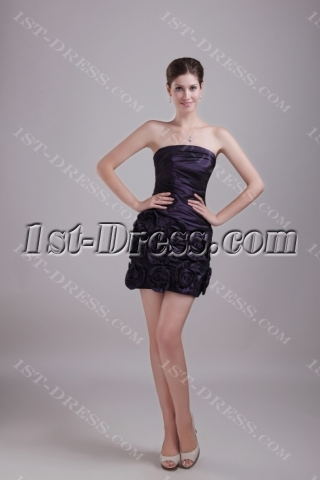 Navy Blue Military Discount Prom Dresses 1329