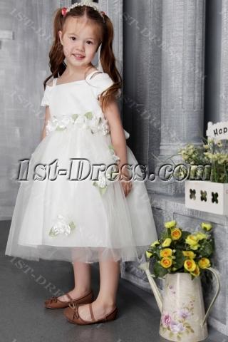Off Shoulder Flower Girl for Toddler 2488