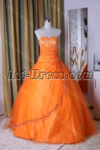 Princess Strapless Long / Floor-Length Satin Tulle Ball Gown 5293