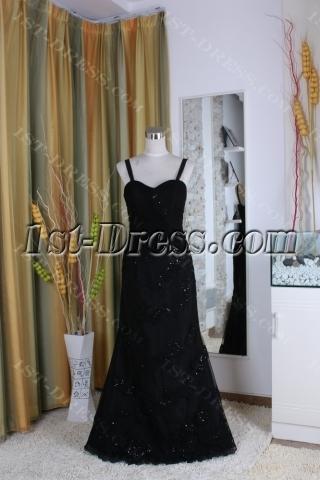 Sheath / Column Square Long / Floor-Length Satin Mother of The Bride Dress 5373