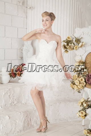 Short Puffy Sweet Sixteen Party Dresses
