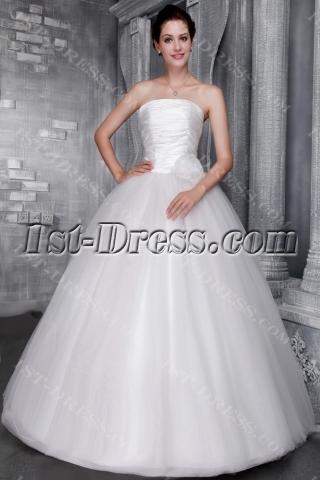 Strapless Cheap Sweet 16 Ball Gown Dresses 2456