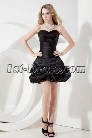 Sweetheart Little Black Dress Sweet 16