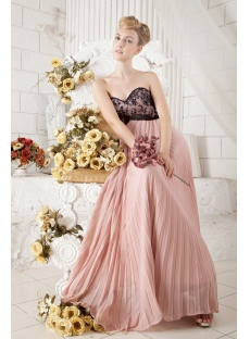 2013 Ankle Length Prom Dress for Full Figure