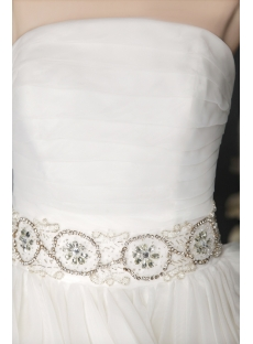 2013 Ball Gown Wedding Dresses Ivory 2813