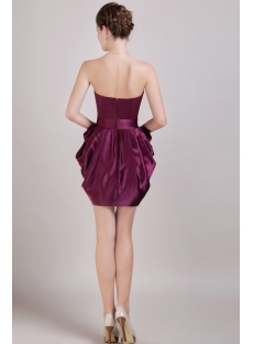 2013 Grape Graduation Dresses Short Discount