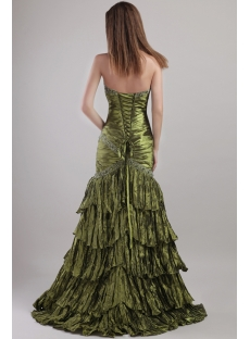 2013 Olive Prom Dresses Long with Sheath 1927