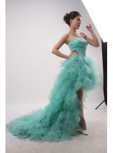 A-Line Sheath / Column Strapless Sweetheart Short / Mini Long / Floor-Length Tulle Elastic Silk-like Satin Evening Dress 3851