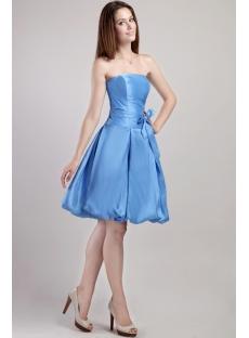 Blue Cute Short Quinceanera Dress 2310