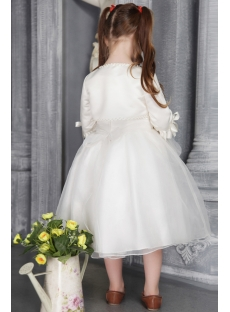 Cheap Flower Girl Dress with Jacket 2525