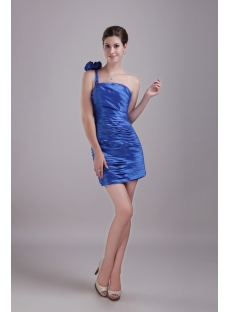 Cheap One Shoulder Graduation Dresses 2013 for High School 1387