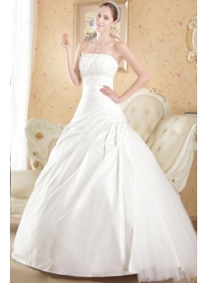Cheap Sophisticated Bridal Gowns with Drop Waist