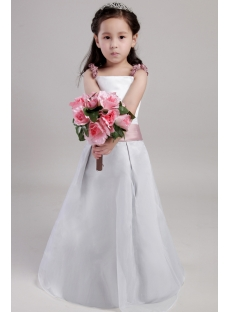 Elegant Little Girls Flower Girl Dresses 2018