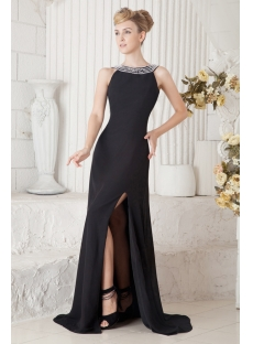 black long elegant evening dresses
