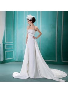 Empire Halter Chiffon Wedding Dress With Ruffle Beadwork Sequins