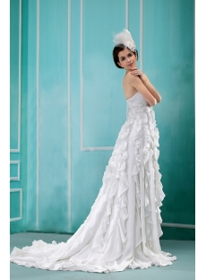Exclusive Empire Bridal Gown for Large Size