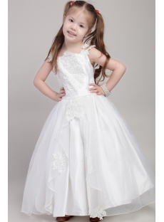 Inexpensive Princess Flower Girl Dresses 2041