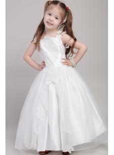 Inexpensive Princess Flower Girl Dresses 2041