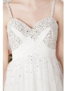 Ivory Beaded Short Unique Party Dresses