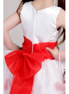 d454d85d9 Ivory and Red Toddler Little Bridal Dress 2053:1st-dress.com