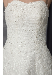 Lace Wedding Dress for Mature Brides 2533