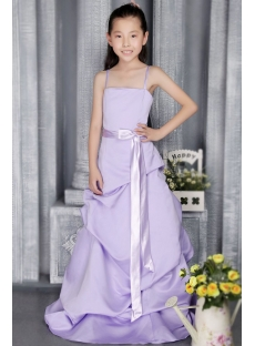 Lavender Bridesmaid Dress Sale Girls 2854