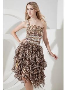 Leopard Sexy Sweet 15 Dress for Summer