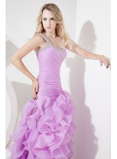 Lilac Long Sexy Formal Evening Dress 2013