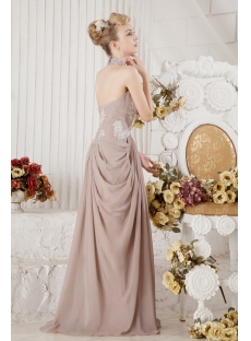 Long Halter Mother of Groom Gown 2013