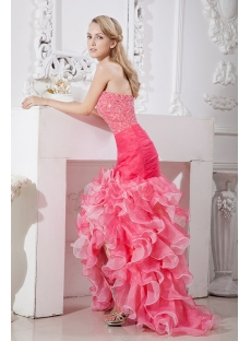Luxury High-low Quinceanera Gown