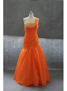 Mermaid Sweetheart Floor-Length Organza Prom Dress 02422