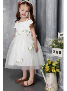 Off Shoulder Flower Girl for Toddler 2488