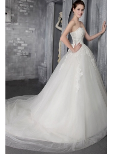 Off White 2014 Spring Cinderella Bridal Gown 2572