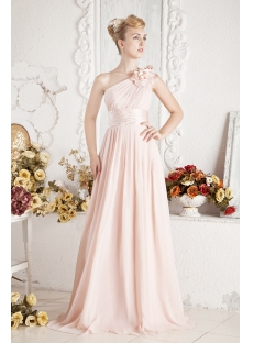 One Shoulder Semi Formal Dresses for Party