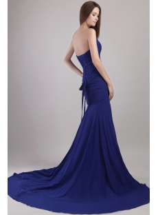 Royal Sheath Sexy Formal Evening Gown 2119