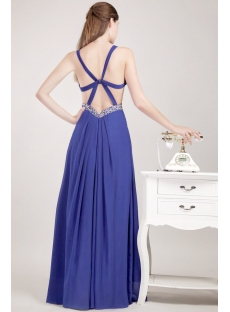 Sexy Maternity Prom Dress with Open Back for Beach