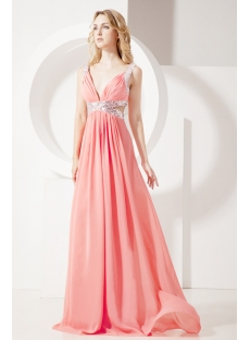 Sexy Plunge Graduation Dress for College