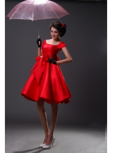 Sheath / Column Off the Shoulder Short / Mini Satin Homecoming Dress H967