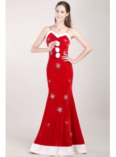 Sheath Red Christmas Homecoming Dress with White Fur