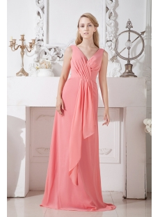 Simple Long Mother of the Bride Dresses Plus Size