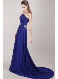 Strapless Chiffon Exquisite 2013 Evening Dress Cheap